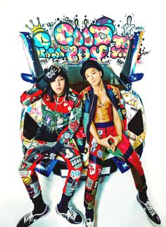 GD&Taeyang - Good Boy, don't care these guys are young...they are over 18 so they are legal! Lol..and very hot!