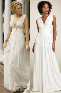 Serena white party dress