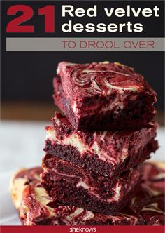 Drool-worthy red velvet desserts we're dying to make