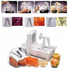 3 in 1 Hand-Cranked Vegetable Slicer