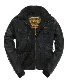 Brad Flight Jacket $450 from Superdry