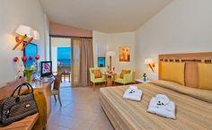 Standard Room at the Santa Marina Plaza Luxury Beach Hotel, Chania, Crete, Greece #travel #hotel #luxury #Chania #Crete #Greece #CheapTravel