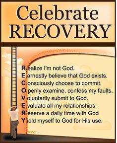 Celebrate Recovery is a program designed to help those struggling with hurts, hang-ups, and habits by showing them the loving power of Jesus Christ through the recovery process.