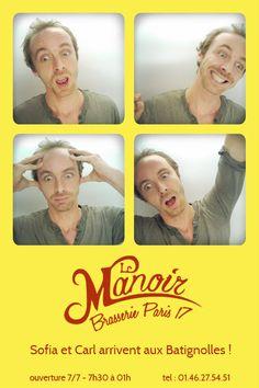 Ma photo dans la photocabine du Manoir !