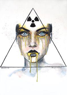 Radioactive by ericadalmaso.deviantart.com on @DeviantArt