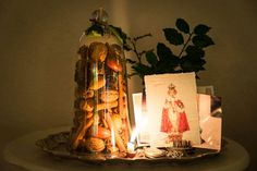 My loving home and garden Home And Garden, Table Lamp, Glass, Bruges, Christmas, Home Decor, Yule, Xmas, Table Lamps