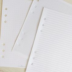 The Basics Collection includes lined, bullet journaling, and grid papers. #codexplanner #plannerlove #bulletjournaling