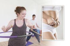 Hulavanne ja hulailu kaventavat vyötäröä - vatsarasva lähtee, apua selkävaivoihin Excercise, Basic Tank Top, Gym Shorts Womens, Sporty, Wellness, Workout, Tank Tops, Health, Style