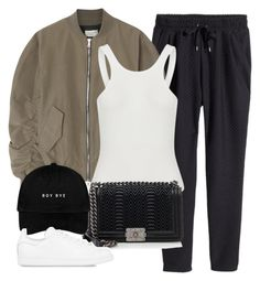 """Untitled #826"" by deamntr ❤ liked on Polyvore featuring H&M, Fear of God, Chanel and adidas Originals"