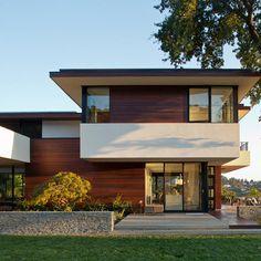 Encuentra aquí ideas de una Fachada de una Casa Moderna, visualizalas mejores fachadas de casas modernas