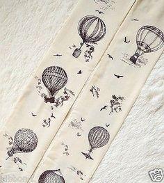 Hot Air Balloon vintage retro adventure pantyhose chic tattoo tights harajuku
