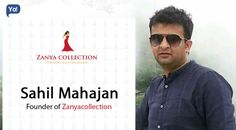 Sahil started zanyacollection to sell Pakistani suits