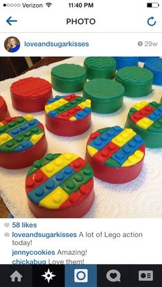 Lego Oreos