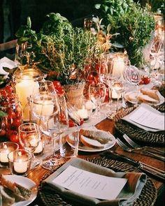 Tuscan welcome dinner: hurricanes cherry tomatoes and fine herbs! Oh so Italian! Venue @borgosanfelice #tuscanwedding #tuscandinner #weddinginspiration #countrywedding #countrydinner #italianfood #tabledesign #weddingdecors #italianwedding