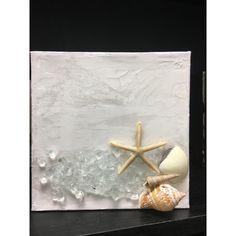 Large Wall Hanging White Giant Resin Starfish Seaside Coastal Decor 33 x 33cm