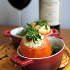 Instame Tomate recheado com ricota e ervas...