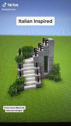 Minecraft Staircase, Minecraft House Plans, Minecraft Farm, Minecraft Mansion, Minecraft Cottage, Easy Minecraft Houses, Minecraft House Tutorials, Minecraft House Designs, Amazing Minecraft