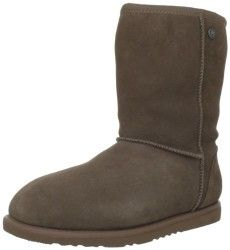 Koolaburra Women's Waterproof Real Shearling Classic Boot