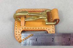 ручной работы из кожи и латуни карабин легкого выпуска цепочка для ключей кольца ремня зажим держатель
