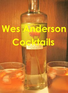 The Inspiration Part One: Imagine This is Written in Futura I had been writing a blog for almost two months before I decided to create cocktails inspired by Wes Anderson. The steps I ...