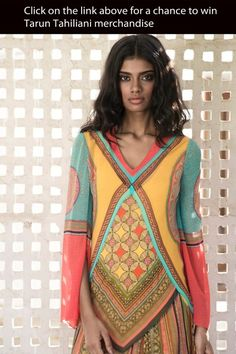 Tarun Tahiliani's #Desi Spring Summer 2013 |  http://www.taruntahiliani.com/index.html |  more (& #contest) here: http://www.vogue.in/promotions/taruntahiliani |
