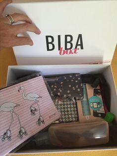 Reçue ma box Biba je vous en parle très vite! Elle est vraiment top!😋