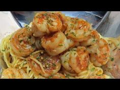 Easy ~ Garlic - Parmesan - Shrimp ~ Bowtie Pasta Recipe ~ Yummy! - YouTube