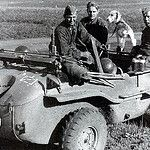 "Volkswagen Type 166 Schwimmwagen (2.SS-Division ""Das Reich"") by GLORY. The largest archive of german WWII images"