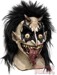 Demonic Plague Latex Mask
