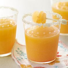 Orange-Ginger Margarita: With orange juice concentrate, you can have a tasty margarita in no time flat.