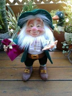 Cute Crafts, Leprechaun, Gnomes, Diorama, Fairytale, Whimsical, Dolls, Christmas Ornaments, Holiday Decor