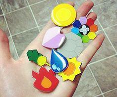 Pokemon Trainer Badges http://www.thisiswhyimbroke.com/pokemon-trainer-badges
