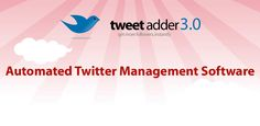 Manage ALL of your Twitter Marketing needs with this low cost software