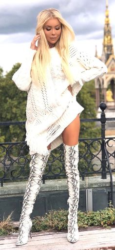 Thigh High Boots Heels, Heeled Boots, Leather And Lace, Leather Boots, Platform Boots, Thigh Highs, Fashion Boots, Thighs, Sexy Women