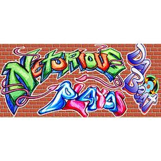 The Graffiti and Brick Wall Backdrop is perfect for your hip hop themed party.  The Graffiti and Brick Wall Backdrop is a great way to cover your walls.