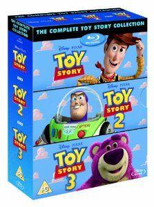 Black Friday 2014 Toy Story Box Set [Blu-ray] from Disney Cyber Monday Toy Story 3, Jim Varney, Disney Pixar, Disney Films, Michael Keaton, Blu Ray Collection, Movie Collection, Tom Hanks, Wayne Knight