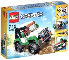 LEGO Creator 31037 Adventure Vehicles 3in1_282 pcs/pzs_Brand New Sealed Set #LEGO