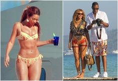 It's no secret that singer Beyonce is one of those girls who, by nature, are likely to be overweight. Let`s see her height, weight and body measurements. Shakira Body, Rihanna Body, Beyonce Style, Beyonce And Jay Z, Curvy Celebrities, Celebs, Beyonce Beyhive, Blue Ivy Carter, Evening Dresses Plus Size