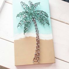 Hey, I found this really awesome Etsy listing at https://www.etsy.com/listing/227581023/palm-tree-string-art