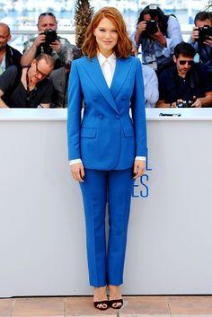 blue/sartorial lady.
