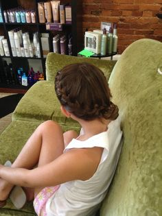 Skippack Stylekrafters Child Updo