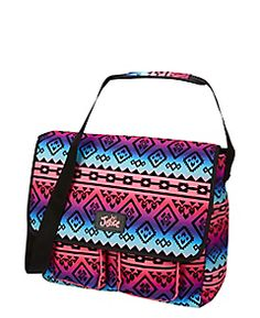 Multi Tribal Messenger Bag