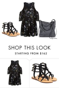 """""""Sem título #7514"""" by ana-sheeran-styles ❤ liked on Polyvore featuring Rebecca Minkoff, Mystique and Ina Kent"""