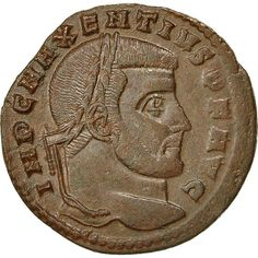 ➽ Ask us to find it for you : Coin Maxentius Follis AD Rome Bronze Ancient Roman Coins, Ancient Romans, Rare Coins, Ancient History, Rome, Auction, Antiques, Vintage, Collection