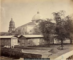 Manila mercado e iglesia sta cruz