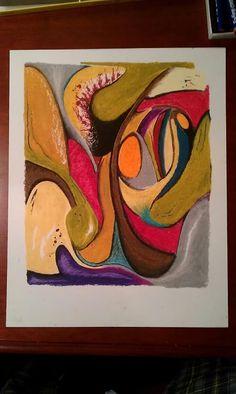 Oil Pastel- Jeff Thomson