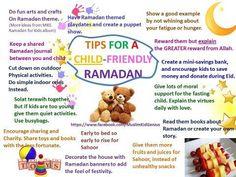 Tips for kid friendly Ramadan