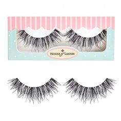 House of Lashes - Temptress Wispy False Eyelashes PACK) Wispy & Full lashes for a perfect day to night look Medium Density lashes Hand-Made from Human Hair Natural look, perfect for weddings and daytime glam Wispy Eyelashes, Best False Eyelashes, Best Lashes, Long Lashes, House Of Lashes, Makeup Geek, Beauty Makeup, Eye Makeup, Hair Beauty