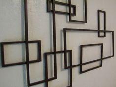 retro midcentury wall art