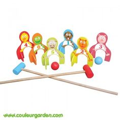 Jeu de croquet pour enfants Croquet, Baby, Gift Ideas, Children, Baby Humor, Infant, Babies, Babys